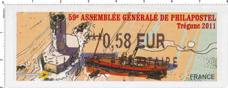 59e Assemblée générale de Philapostel Trégunc 2011