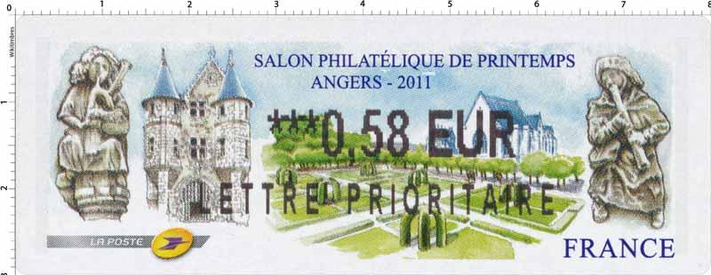 SALON PHILATÉLIQUE DE PRINTEMPS ANGERS 2011