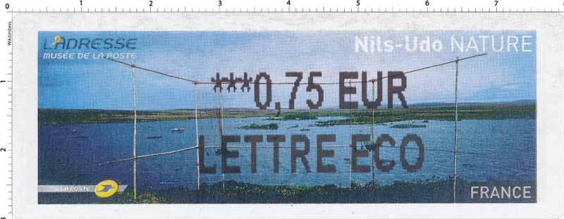Nils-Udo Nature L'Adresse de La Poste