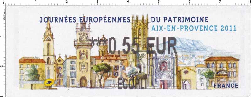 LISA «Journées européennes du Patrimoine - Aix-en-Provence 2011»