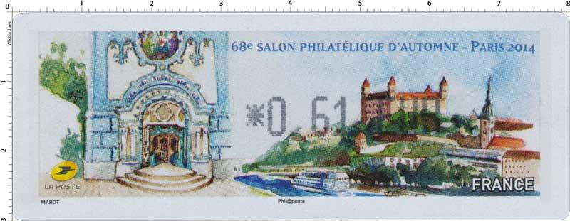 2014 68e Salon philatélique d'automne Paris