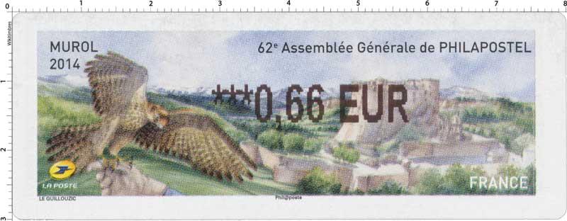 2014 - 62e assemblée générale Philapostel Murol