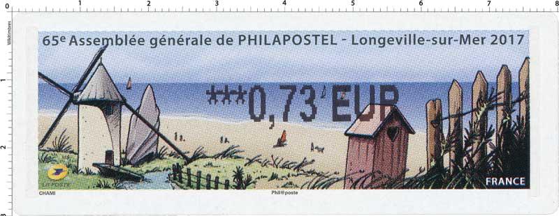 2017 65e Assemblée générale de PHILAPOSTEL - Longueville-sur-mer