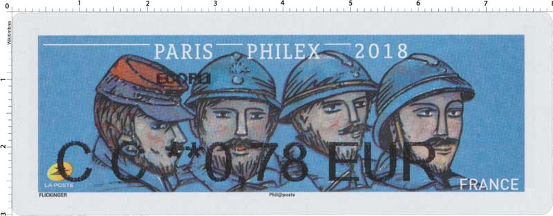 2018 PARIS PHILEX