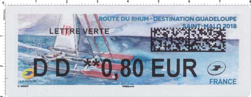 2018 Route du rhum - Destination Guadeloupe - Saint-Malo