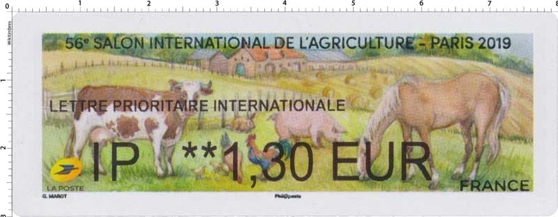 2019 56e Salon international de l'agriculture - Paris