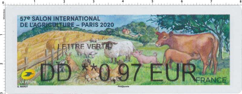 2020 57e SALON INTERNATIONAL DE L'ACRICULTURE - PARIS