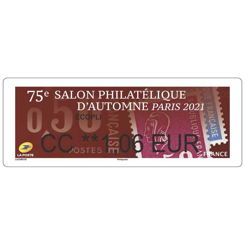 2021 75e SALON PHILATÉLIQUE D'AUTOMNE - PARIS