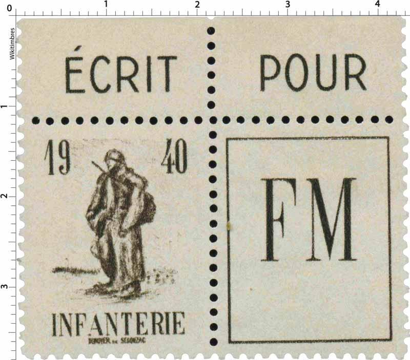 INFANTERIE FM 1940