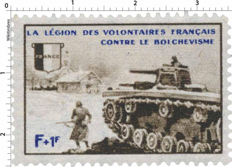 LA LÉGION DES VOLONTAIRES Français CONTRE LE BOLCHEVISME