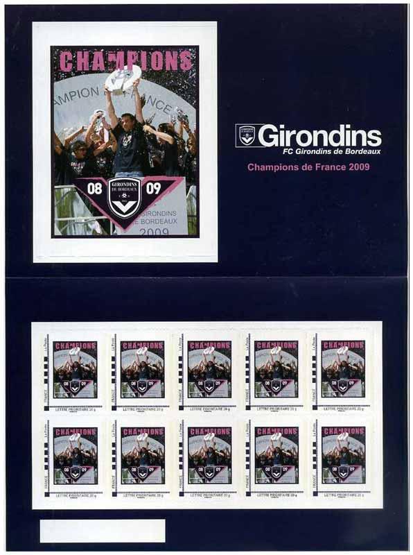 2009 Girondins FC Girondins de Bordeaux Champions de France 2009