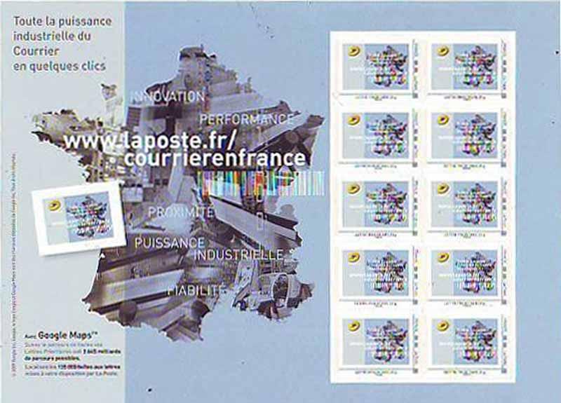 2010 Toute la puissance industrielle du courrier en quelques clics