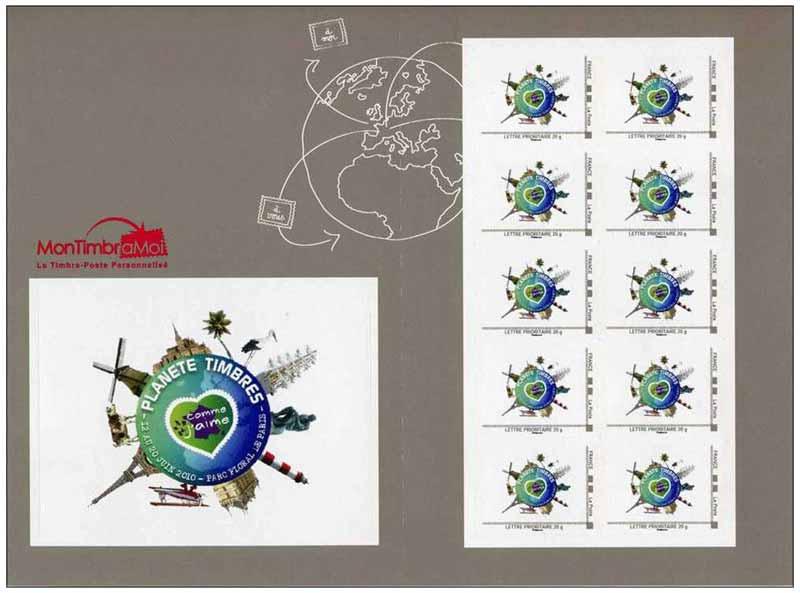 2010 Planète timbre du 11 au 20 juin 2010 parc floral de Paris