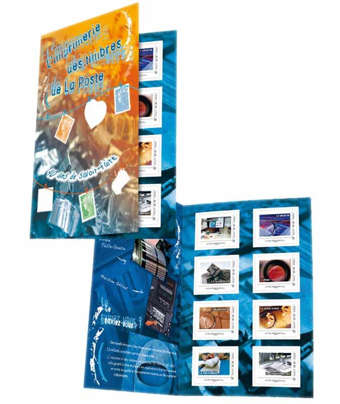 2010 40 ans de l'imprimerie des timbres de La Poste