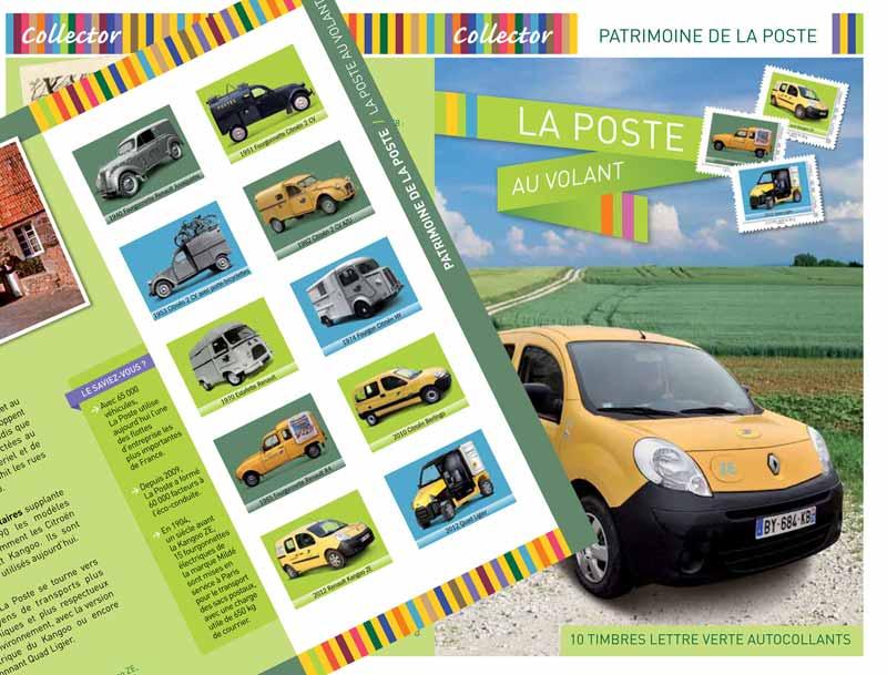 2012 Patrimoine de la Poste la Poste au volant