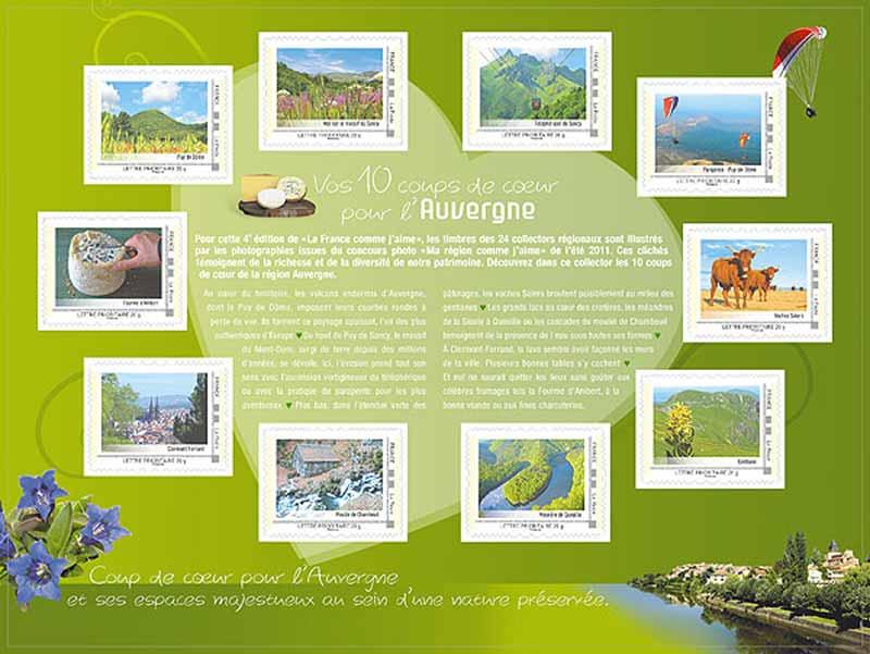 2012 La France comme j'aime - Auvergne