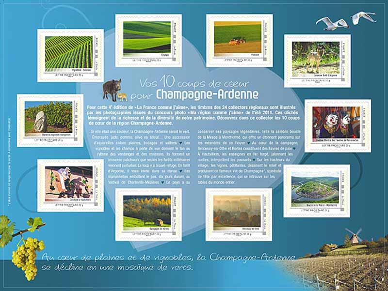 2012 La France comme j'aime - Champagne-Ardenne