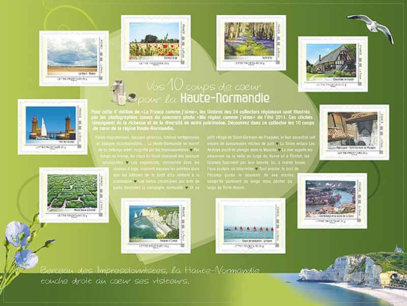 2012 La France comme j'aime - Haute Normandie