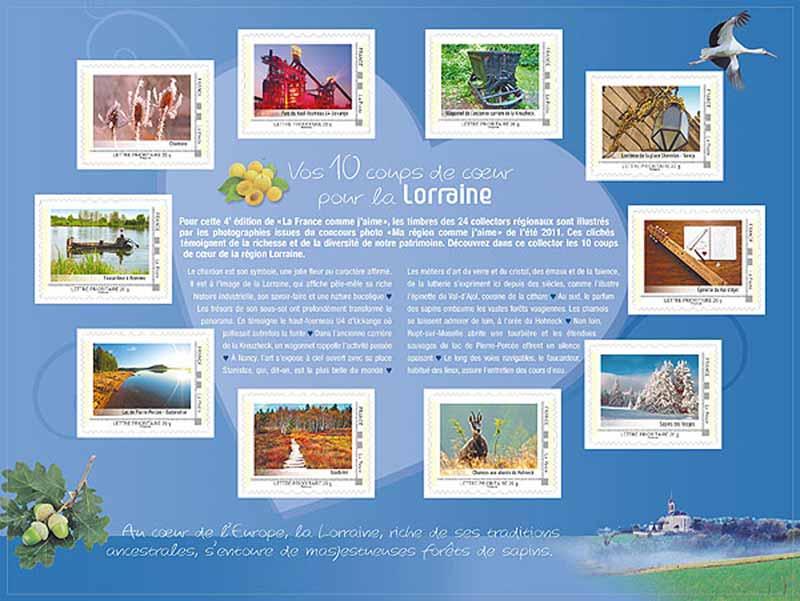2012 La France comme j'aime - Lorraine