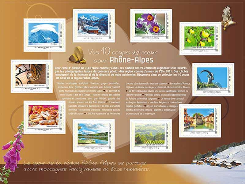 2012 La France comme j'aime - Rhône-Alpes