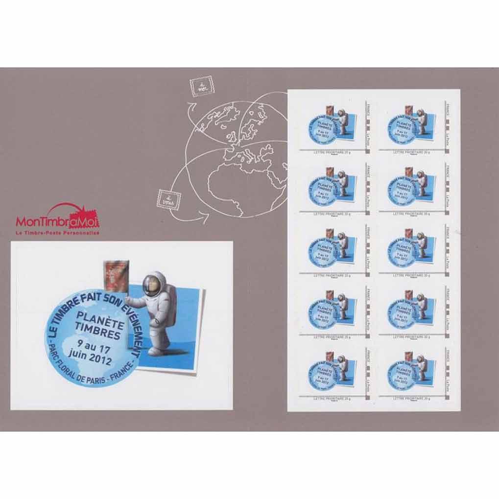 2012 Planète timbres, le timbre fait son événement
