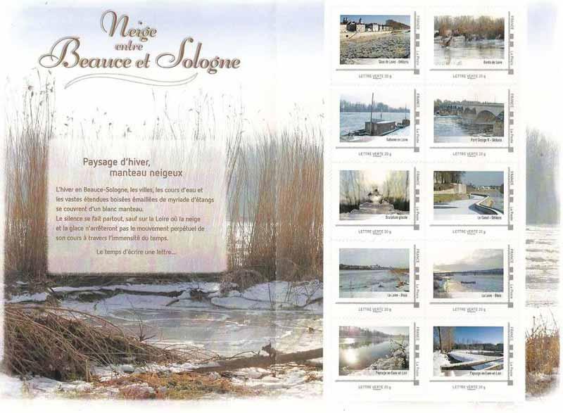 2012  Neige entre Beauce et Sologne