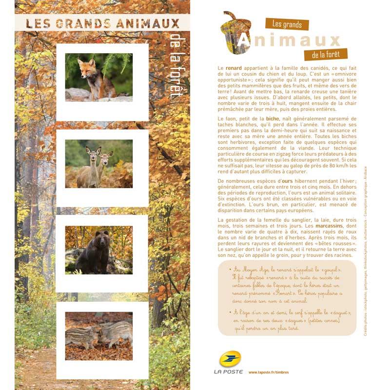 2013 Les grands animaux de la forêt