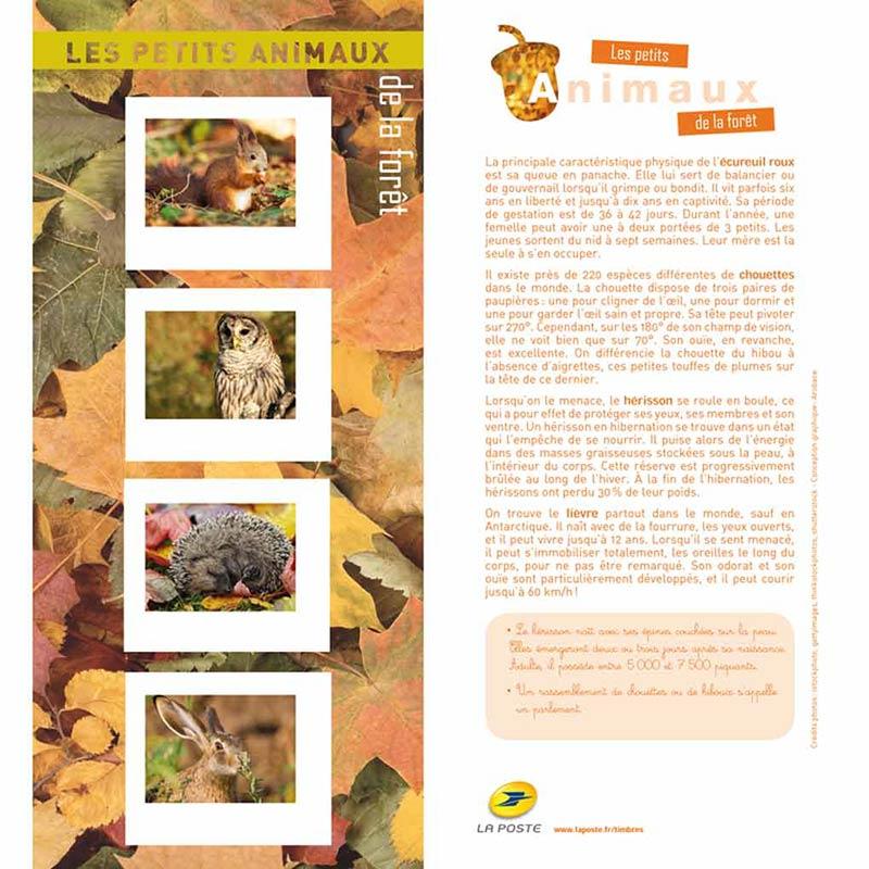 2013 Les petits animaux de la forêt