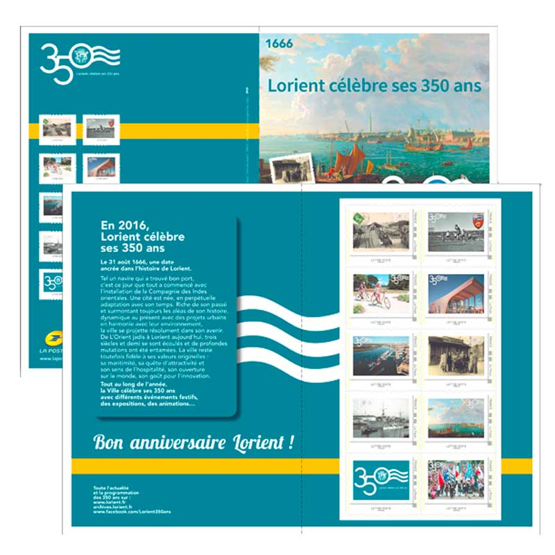 2016 350 Ans de la ville de Lorient
