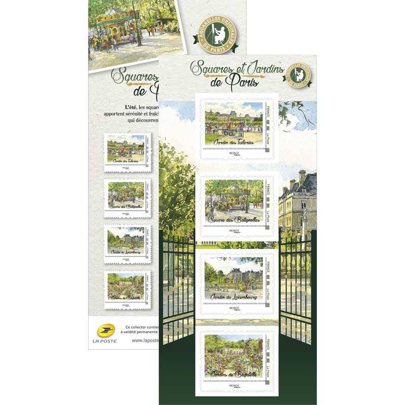2017 Squares et jardins de Paris - l'été
