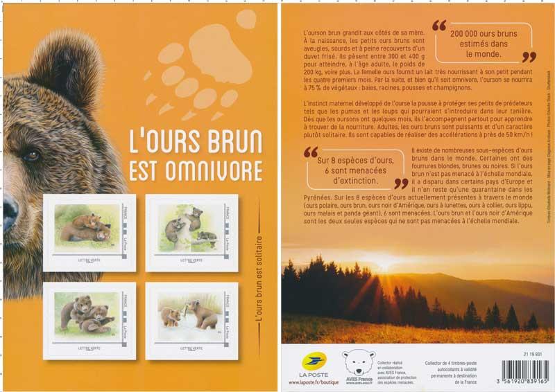 2019 L'ours brun est omnivore