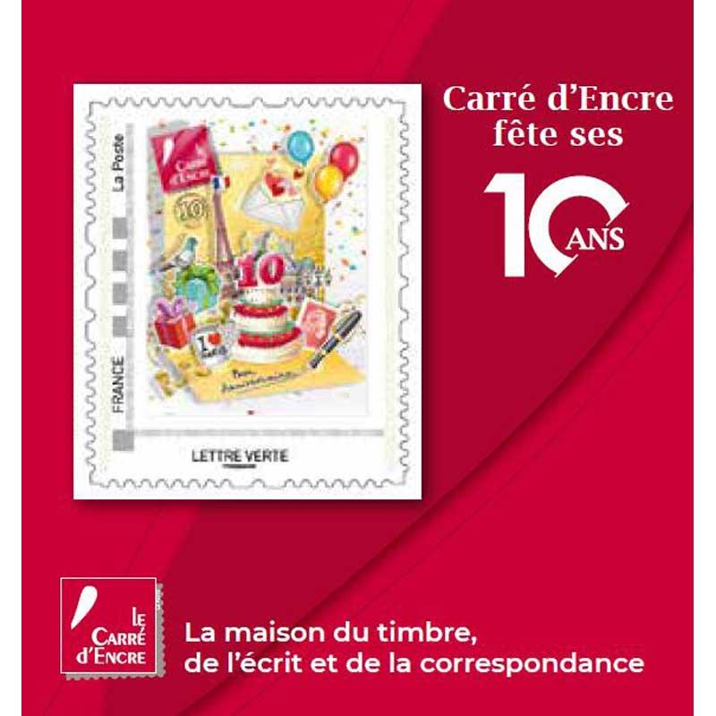2019 Carré d'Encre fête ses 10 ans