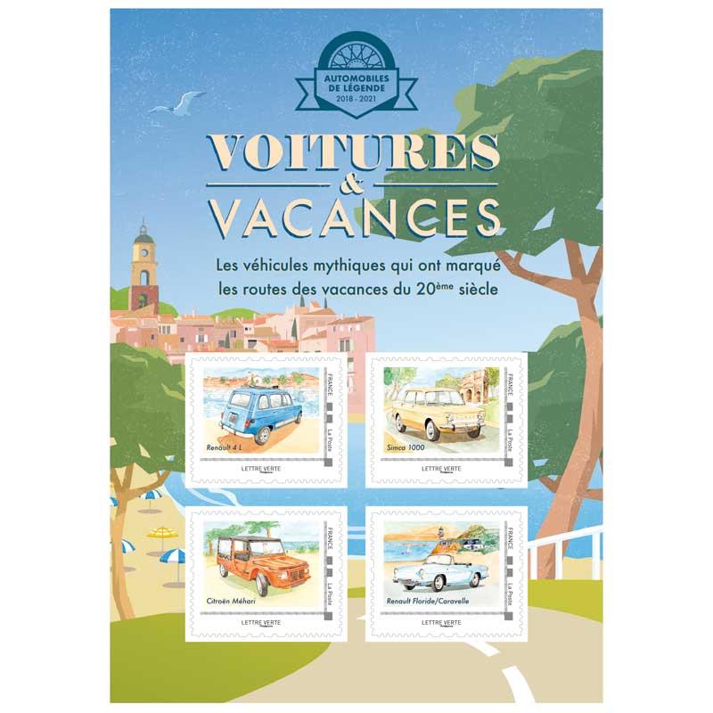 2020 Voitures & Vacances - Renault 4 L – SIMCA 1000 – Citroën Méhari – Renault Floride / Caravelle