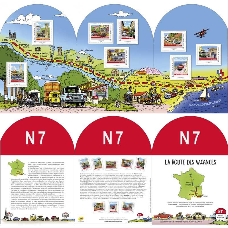 2021 La route des vacances - N7 - Lyon Menton