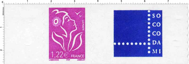 logo - type Marianne de Lamouche