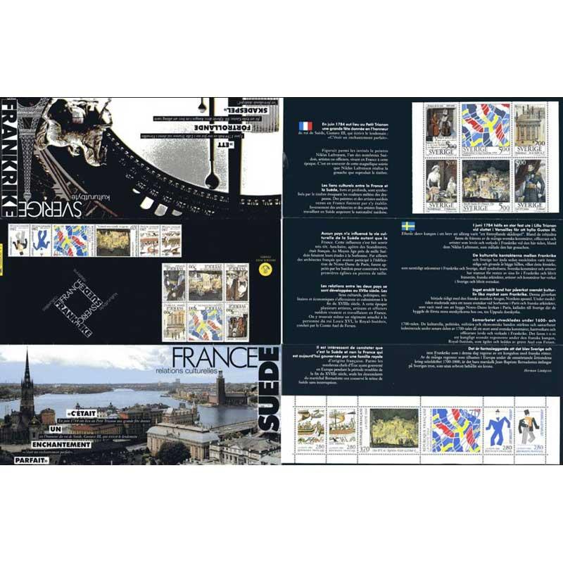 POCHETTE 1994 émission commune France - Suède