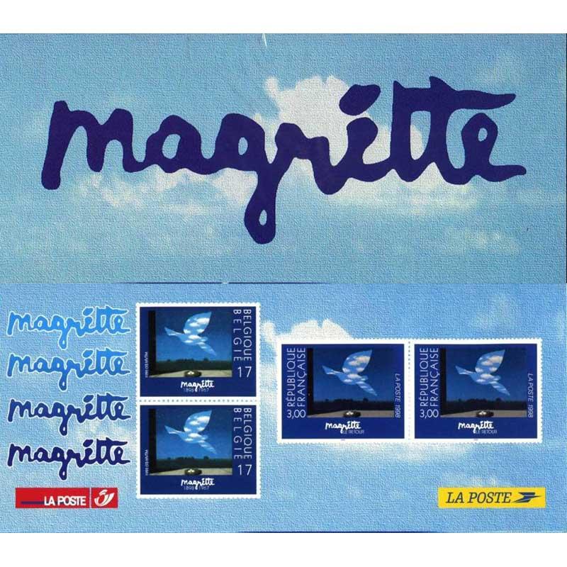 POCHETTE 1998 émission commune France - Belgique