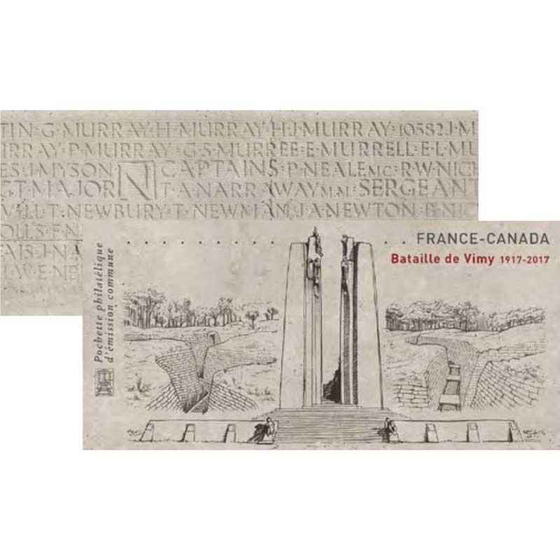 2017 France - Canada Bataille de la Crête de Vimy 1917-2017