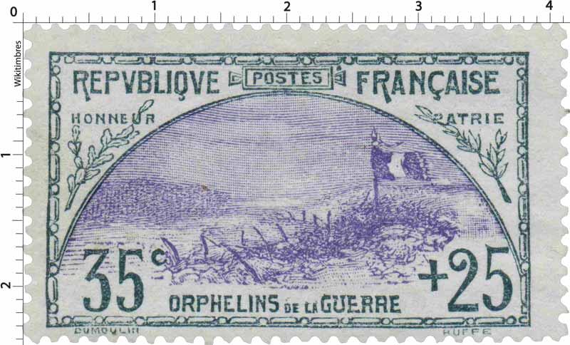 ORPHELINS DE LA GUERRE HONNEUR PATRIE