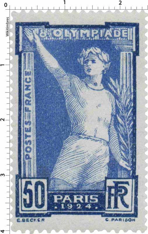 8e OLYMPIADE - PARIS 1924