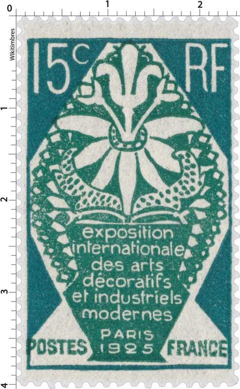 Exposition internationale des arts décoratifs et industriels modernes PARIS 1925