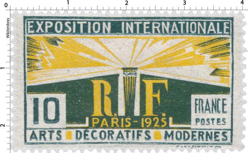 EXPOSITION INTERNATIONALE PARIS - 1925 ARTS DÉCORATIFS MODERNES