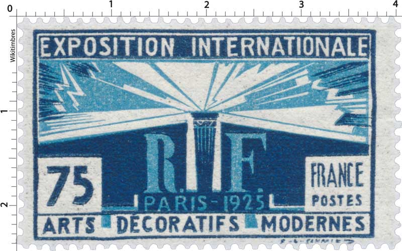 EXPOSITION INTERNATIONALE PARIS-1925 ARTS DÉCORATIFS MODERNES
