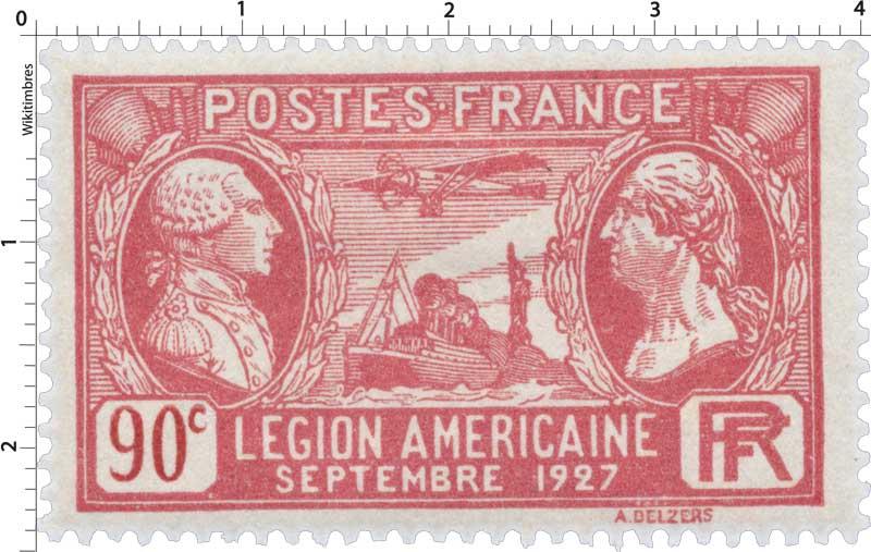 LÉGION AMÉRICAINE SEPTEMBRE 1927