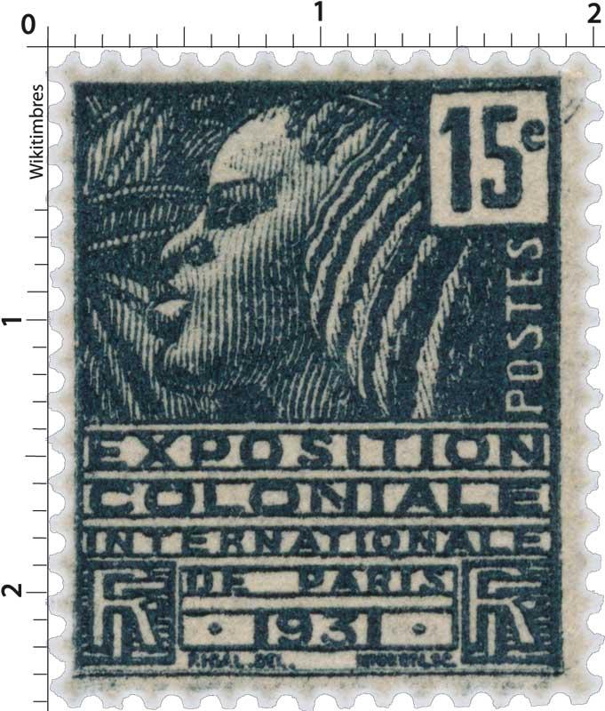 EXPOSITION COLONIALE INTERNATIONALE DE PARIS 1931
