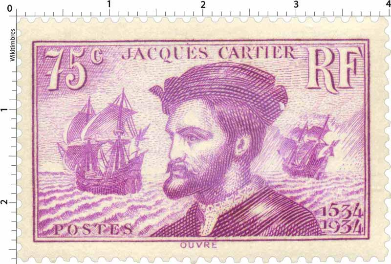 JACQUES CARTIER 1534-1934