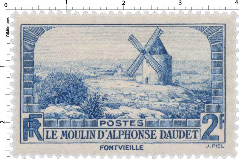 LE MOULIN D'ALPHONSE DAUDET FONTVIEILLE