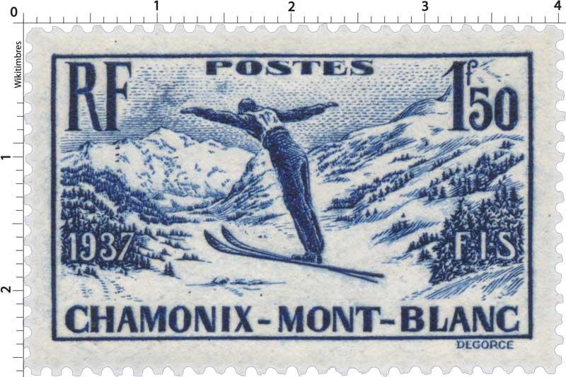 1937 FIS CHAMONIX-MONT-BLANC