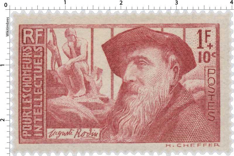 POUR LES CHÔMEURS INTELLECTUELS Auguste Rodin