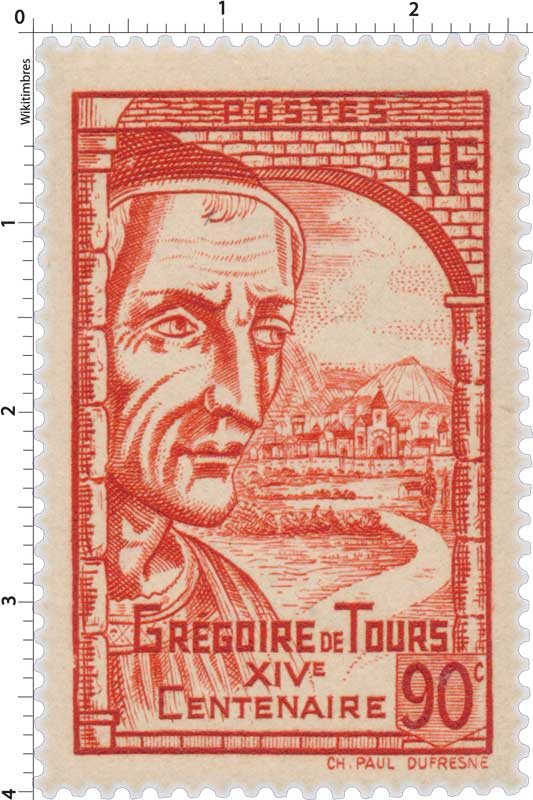 GRÉGOIRE DE TOURS XIVe Centenaire